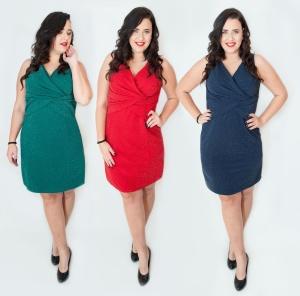 Modne sukienki dla puszystych w dużych rozmiarach XXL - Moda Plus ... af7b4bde4e6