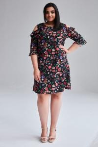 a826604d Modne sukienki dla puszystych w dużych rozmiarach XXL - Moda Plus ...