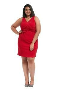 5957f332 Sukienki codzienne - Moda Plus Size Iwanek