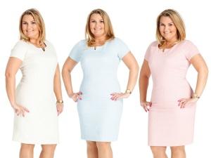 Sukienki Damskie Wieczorowe Duże Rozmiary Xxl Moda Size Plus Iwanek