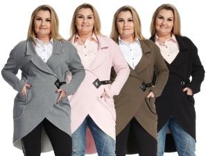 Kurtka bluza dresowa casual oversize PLUS SIZE 9961a5ee55
