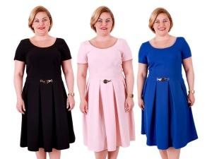09c8a4180d Sukienki Damskie Wieczorowe Duże Rozmiary Xxl Moda Size Plus Iwanek