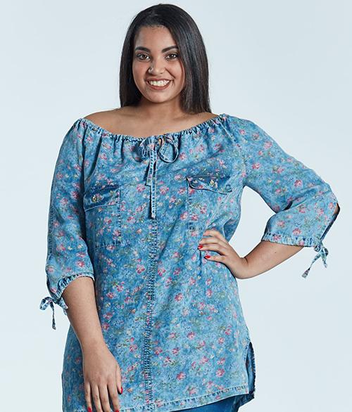 3d3016d8 Bluzki damskie dla puszystych, duże rozmiary XXL - Moda Size Plus Iwanek