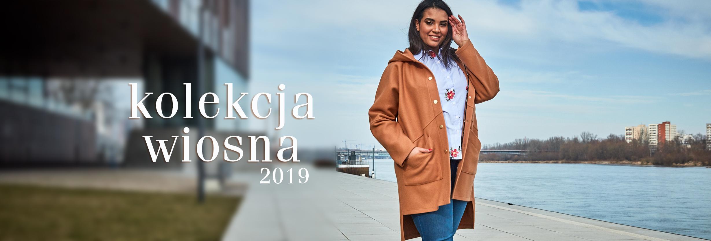 Kolekcja Wiosna 2019 - Płaszcz Camelowy 3a8b1241a3