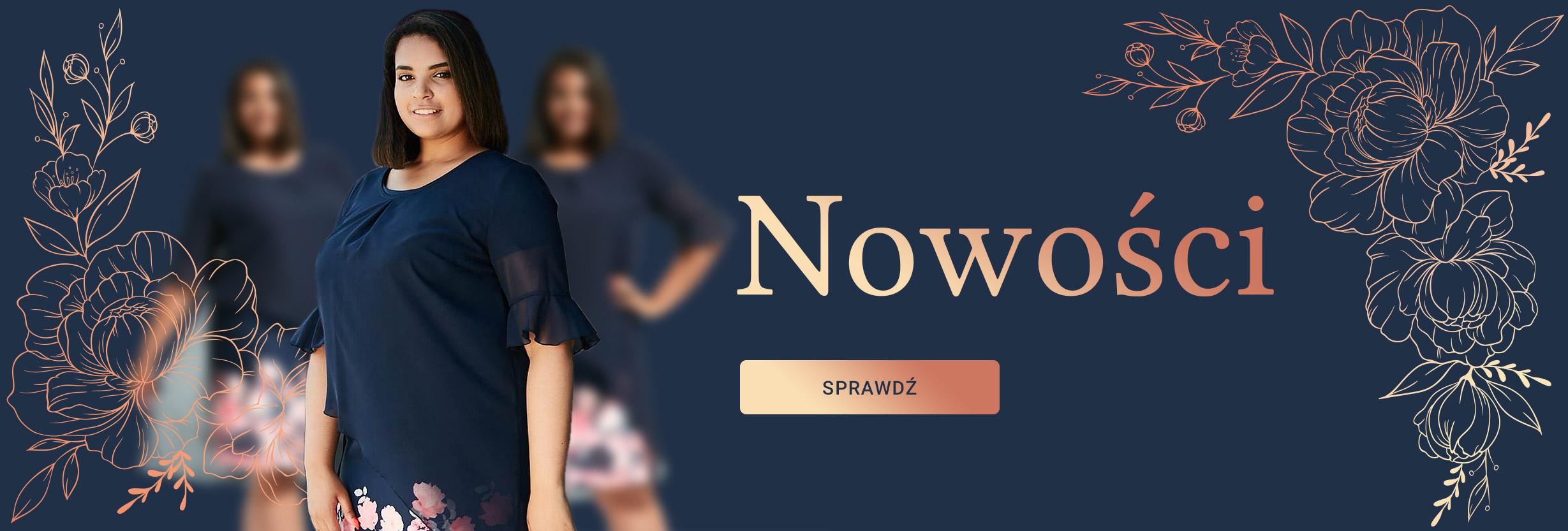 acbd7244d50062 Odzież damska XXL dla puszystych, modne duże rozmiary - Moda Size ...